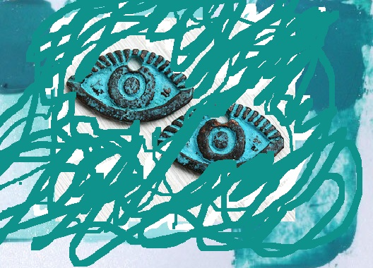 verdigris colours eyes