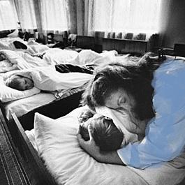 +blue= orphanage mum
