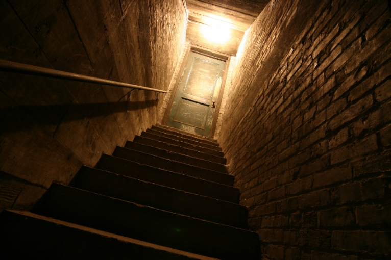 Never impossible Creepy scary basement
